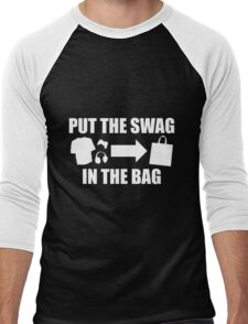 PUT THE SWAG IN THE BAG Men's Baseball ¾ T-Shirt