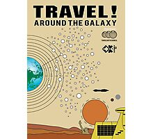 Travel the Galaxy Propaganda - Are You There? Photographic Print