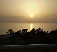 cyprus sunset by sally-ann rawlinson