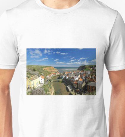 The Seaside Village of Staithes Unisex T-Shirt