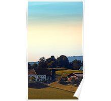 Beautiful farmland scenery | landscape photography Poster