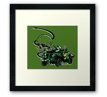 Special Forces Truck  Framed Print