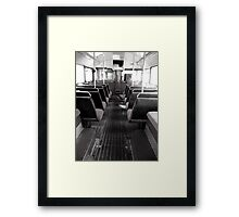 lower saloon Framed Print