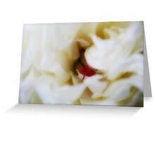 Peony Passion - JUSTART © Greeting Card