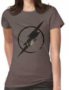 Galaxy - Flash Womens Fitted T-Shirt