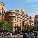 Plaça de Catalunya by Tom Gomez