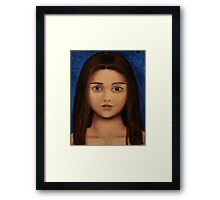 Acrylic Girl Framed Print