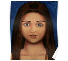 Acrylic Girl Poster