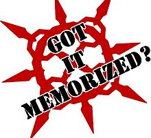 Got it memorized? by Alessandro Bianco