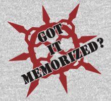 Got it memorized? One Piece - Long Sleeve
