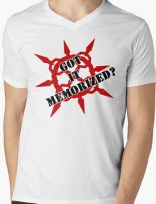 Got it memorized? Mens V-Neck T-Shirt