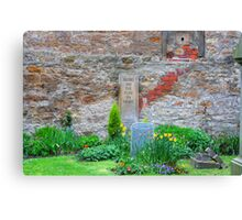 Blessed are the pure in heart Canvas Print