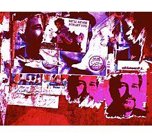 Heaven's wall Photographic Print