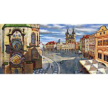 Prague Old Town Squere Photographic Print