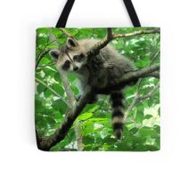 Yeah, I'm just hangin' out. Whatchu doin'? Tote Bag