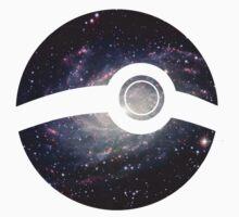 Galaxy - Pokeball by kindigo