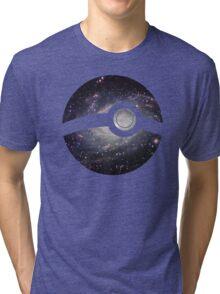 Galaxy - Pokeball Tri-blend T-Shirt