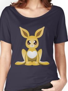 Yellow bunny 2 Women's Relaxed Fit T-Shirt