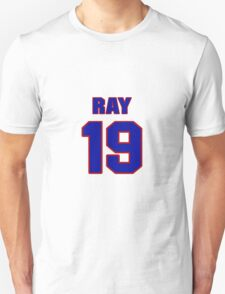 National football player Ray Stachowicz jersey 19 T-Shirt