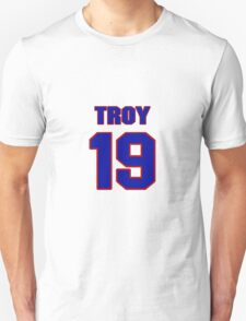 National football player Troy Williamson jersey 19 T-Shirt