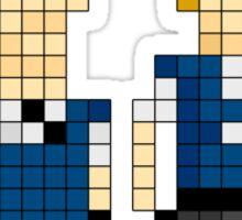 Hot Fuzz - Pixel Art Sticker