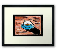 The Long Shadow of Morning Framed Print
