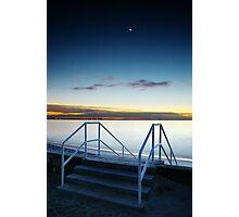 Moon Steps Photographic Print