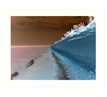 Sleeping Bear Dunes Beach in Northern Michigan USA Art Print