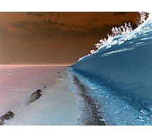 Sleeping Bear Dunes Beach in Northern Michigan USA Photographic Print