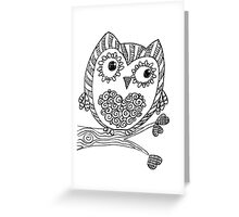 My Name is Hooty Greeting Card