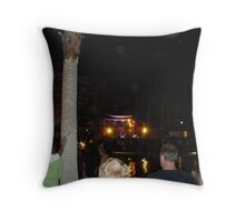 Poolside Concerts Throw Pillow