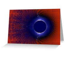 sound barrier Greeting Card
