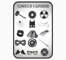 Elements of a Superhero  Kids Clothes