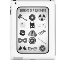 Elements of a Superhero  iPad Case/Skin