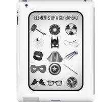 Elements of a Superhero  iPad Case/Skin