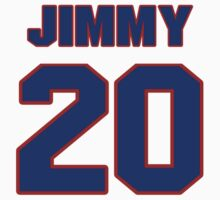 National football player Jimmy Hargrove jersey 20 by imsport