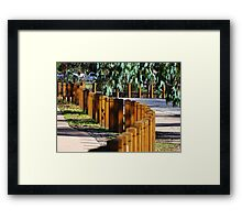 A walk in the park... Framed Print