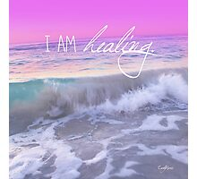 I am HEALING Photographic Print