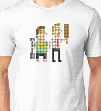 Shaun of the Dead - Pixel Art Unisex T-Shirt