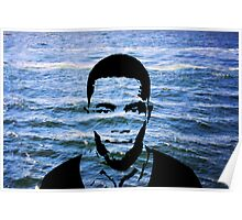 OCEAN (Negative Space) Poster