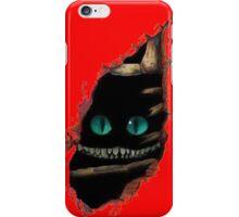 Alice in Wonderland - Cat surprise iPhone Case/Skin