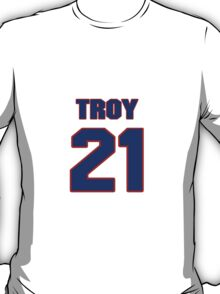 National football player Troy Stradford jersey 21 T-Shirt