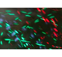 Light sparks  Photographic Print