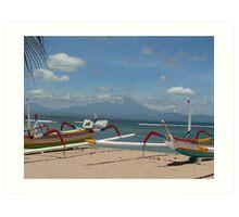 Sanur Beach, Bali, Indonesia Art Print