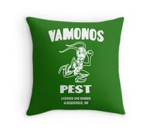Vamonos Pest Throw Pillow