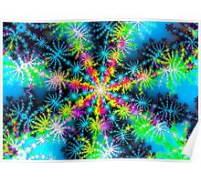 ice crystal Poster