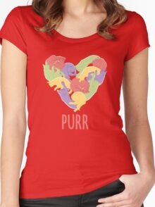 Purr Women's Fitted Scoop T-Shirt