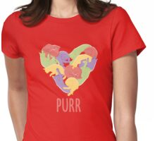 Purr Womens Fitted T-Shirt