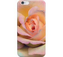 Pastel pink rose iPhone Case/Skin