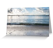 Relax wave Greeting Card